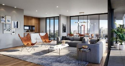 Living - Apartamento 1 quarto à venda Vila Madalena, São Paulo - R$ 1.047.500 - II-4571-11844 - 14