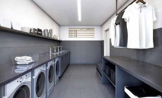 Lavanderia - Apartamento 1 quarto à venda Vila Madalena, São Paulo - R$ 1.047.500 - II-4571-11844 - 24