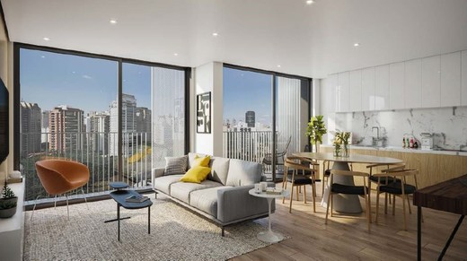 Living - Apartamento 1 quarto à venda Vila Madalena, São Paulo - R$ 1.047.500 - II-4571-11844 - 13
