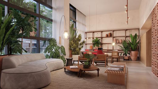 Lobby - Studio à venda Rua Vieira de Morais,Campo Belo, Zona Sul,São Paulo - R$ 418.758 - II-4798-12091 - 6
