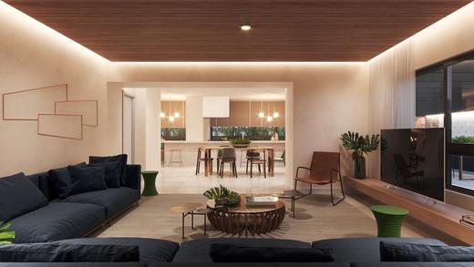 Espaco gourmet - Studio à venda Rua Vieira de Morais,Campo Belo, Zona Sul,São Paulo - R$ 418.758 - II-4798-12091 - 12