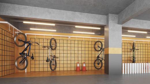 Bicicletario - Studio à venda Rua Vieira de Morais,Campo Belo, Zona Sul,São Paulo - R$ 418.758 - II-4798-12091 - 10