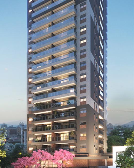 Fachada - Studio à venda Rua Vieira de Morais,Campo Belo, Zona Sul,São Paulo - R$ 418.758 - II-4798-12091 - 1