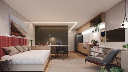Studio 30m2 - Studio à venda Rua Vieira de Morais,Campo Belo, Zona Sul,São Paulo - R$ 418.758 - II-4798-12091 - 8