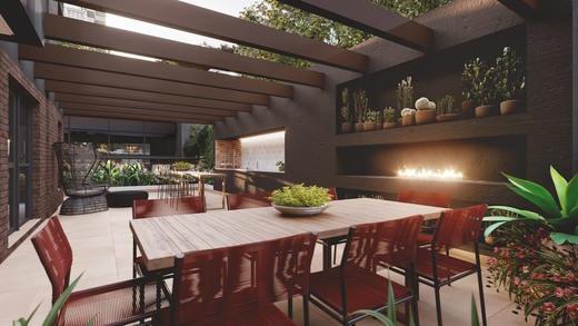 Churrasqueira - Studio à venda Rua Vieira de Morais,Campo Belo, Zona Sul,São Paulo - R$ 418.758 - II-4798-12091 - 13