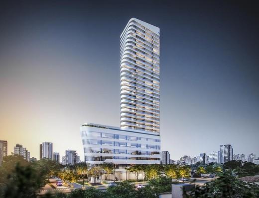 Fachada - Apartamento 1 quarto à venda Pinheiros, São Paulo - R$ 885.237 - II-4801-12103 - 5