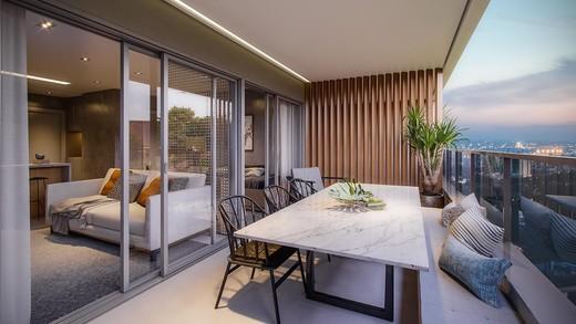 Terraco - Apartamento 1 quarto à venda Pinheiros, São Paulo - R$ 885.237 - II-4801-12103 - 15