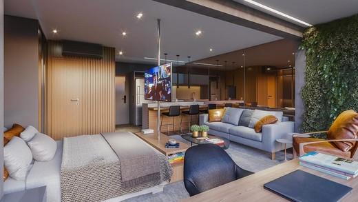 Dormitorio - Apartamento 1 quarto à venda Pinheiros, São Paulo - R$ 885.237 - II-4801-12103 - 17