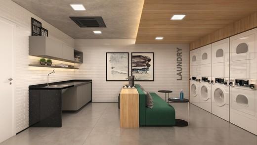 Lavanderia - Apartamento 1 quarto à venda Pinheiros, São Paulo - R$ 885.237 - II-4801-12103 - 21