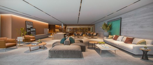 Salao de festas - Apartamento 1 quarto à venda Pinheiros, São Paulo - R$ 885.237 - II-4801-12103 - 25
