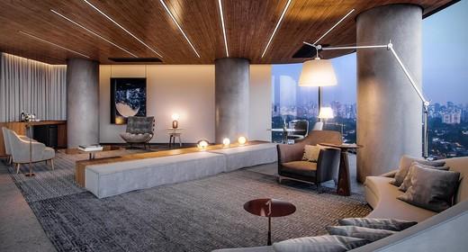 Salao de festas - Apartamento 1 quarto à venda Pinheiros, São Paulo - R$ 885.237 - II-4801-12103 - 27