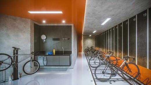Bicicletario - Apartamento 1 quarto à venda Pinheiros, São Paulo - R$ 885.237 - II-4801-12103 - 31