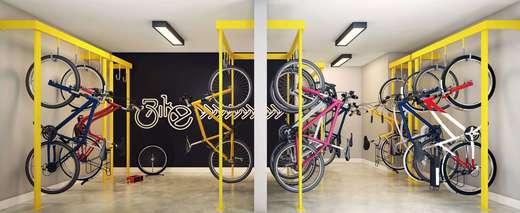 Bicicletario - Fachada - Vibra Estação Capão Redondo - 580 - 10