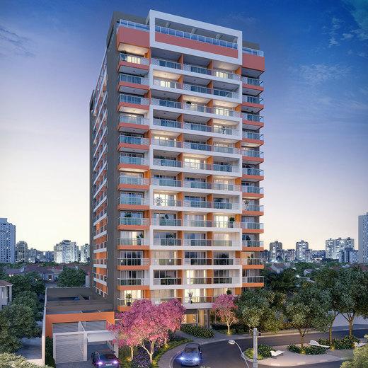 Fachada - Studio à venda Rua Vieira de Moraes,Campo Belo, Zona Sul,São Paulo - R$ 553.641 - II-4834-12188 - 1