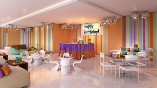 Salao de festas - Fachada - Idea Condominium - 587 - 7