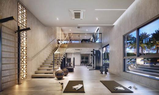 Fitness - Fachada - Zahle Jardins Residencial - 591 - 12