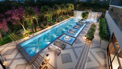 Piscina oasis - Fachada - Zahle Jardins Residencial - 591 - 22