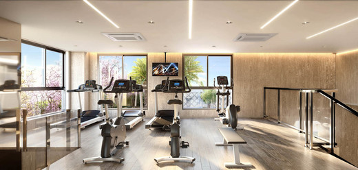 Fitness - Fachada - Zahle Jardins Residencial - 591 - 13