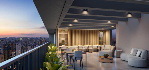 Rooftop gourmet - Fachada - Zahle Jardins Residencial - 591 - 20