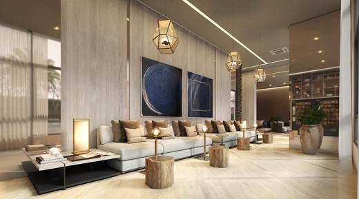 Lounge cafe - Fachada - Zahle Jardins Residencial - 591 - 17