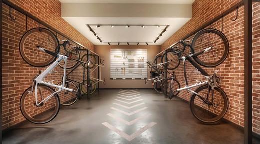 Bicicletario - Fachada - Zahle Jardins Residencial - 591 - 21