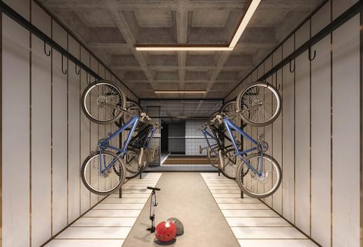 Bicicletario - Fachada - GIO Campo Belo - 594 - 15