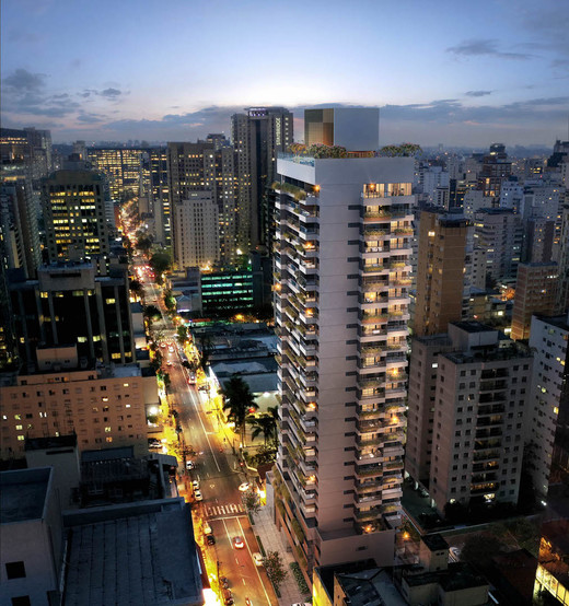 Aerea noturna - Loja 578m² à venda Rua Joaquim Floriano,Itaim Bibi, São Paulo - R$ 13.773.720 - II-4882-12259 - 4