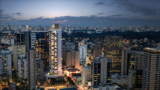 Aerea noturna - Loja 578m² à venda Rua Joaquim Floriano,Itaim Bibi, São Paulo - R$ 13.773.720 - II-4882-12259 - 5