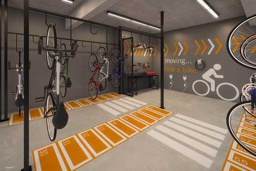 Bicicletario - Fachada - East Side Méier - 1296 - 15