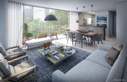 Living - Apartamento 4 quartos à venda Lagoa, Rio de Janeiro - R$ 6.200.000 - II-4932-26312 - 4