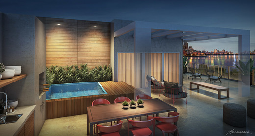 Varanda - Apartamento 4 quartos à venda Lagoa, Rio de Janeiro - R$ 6.200.000 - II-4932-26312 - 6