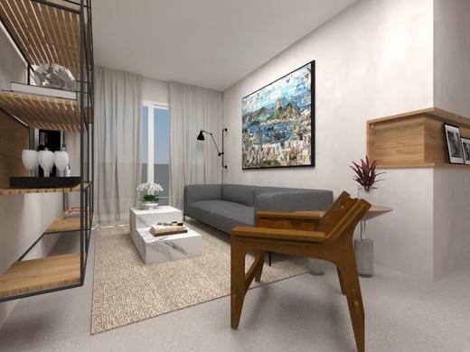 Living - Apartamento 3 quartos à venda Botafogo, Rio de Janeiro - R$ 1.516.900 - II-4933-12350 - 4