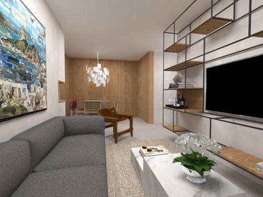 Living - Apartamento 3 quartos à venda Botafogo, Rio de Janeiro - R$ 1.516.900 - II-4933-12350 - 5