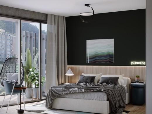 Dormitorio - Fachada - Contemporâneo Gávea - 8 - 7