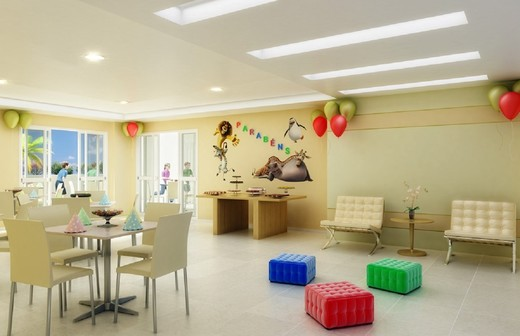 Salao de festas - Fachada - Be Happy Freguesia Clube Condomínio - 9 - 8
