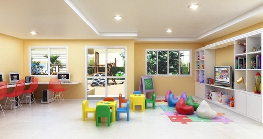 Espaco kids - Fachada - Be Happy Freguesia Clube Condomínio - 9 - 14