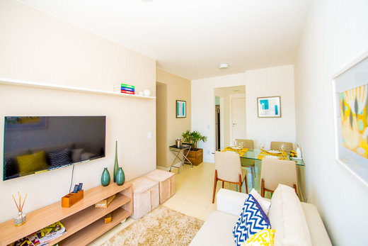 Living - Fachada - Fiore Residencial - 10 - 4