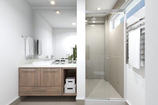 Banheiro - Apartamento 3 quartos à venda Vila Madalena, São Paulo - R$ 1.542.000 - II-5020-12532 - 9