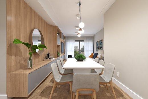Living - Apartamento 3 quartos à venda Vila Madalena, São Paulo - R$ 1.542.000 - II-5020-12532 - 3