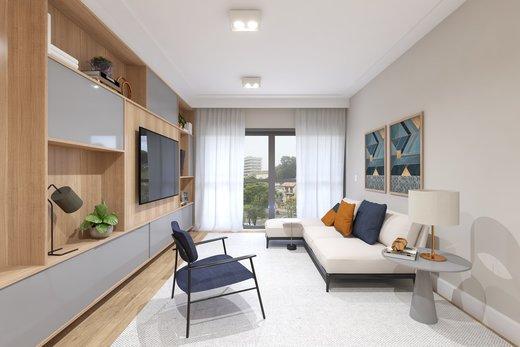 Living - Apartamento 3 quartos à venda Vila Madalena, São Paulo - R$ 1.542.000 - II-5020-12532 - 4