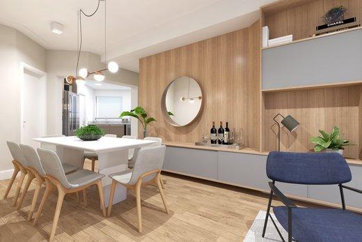 Living - Apartamento 3 quartos à venda Vila Madalena, São Paulo - R$ 1.542.000 - II-5020-12532 - 5