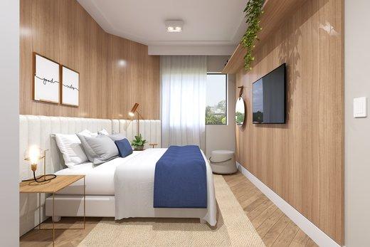 Quarto principal - Apartamento 3 quartos à venda Vila Madalena, São Paulo - R$ 1.542.000 - II-5020-12532 - 6