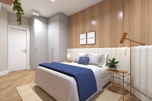 Quarto principal - Apartamento 3 quartos à venda Vila Madalena, São Paulo - R$ 1.542.000 - II-5020-12532 - 7