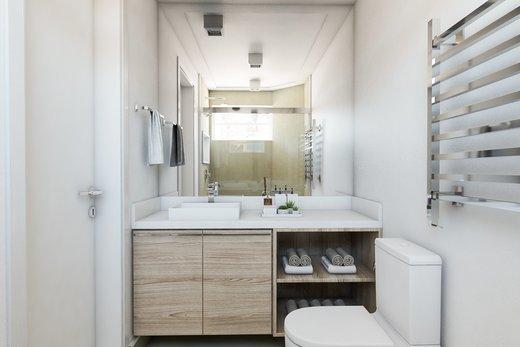 Banheiro - Apartamento 3 quartos à venda Vila Madalena, São Paulo - R$ 900.000 - II-5021-12533 - 3