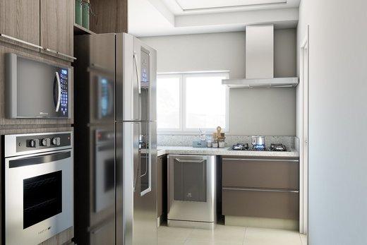Cozinha - Apartamento 3 quartos à venda Vila Madalena, São Paulo - R$ 900.000 - II-5021-12533 - 4
