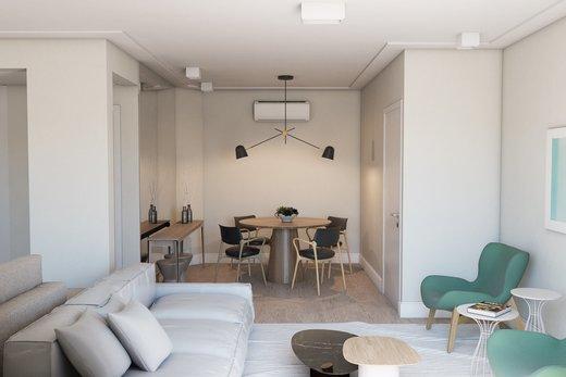 Living - Apartamento 3 quartos à venda Vila Madalena, São Paulo - R$ 900.000 - II-5021-12533 - 6