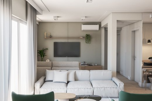 Living - Apartamento 3 quartos à venda Vila Madalena, São Paulo - R$ 900.000 - II-5021-12533 - 7