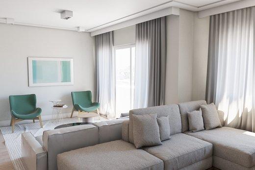 Living - Apartamento 3 quartos à venda Vila Madalena, São Paulo - R$ 900.000 - II-5021-12533 - 8