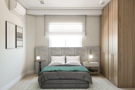 Quarto principal - Apartamento 3 quartos à venda Vila Madalena, São Paulo - R$ 900.000 - II-5021-12533 - 9