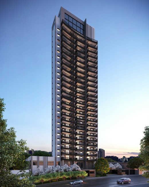 Fachada - Apartamento 2 quartos à venda Pinheiros, São Paulo - R$ 1.122.000 - II-5052-12585 - 1